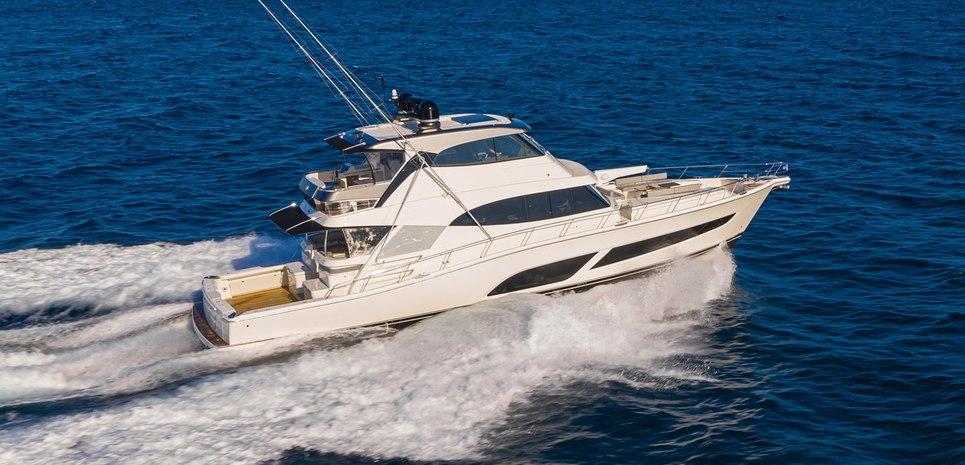 Riviera 72 Sports MY Charter Yacht