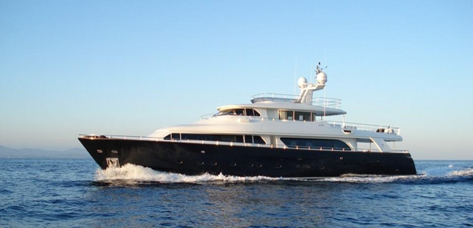 Ferretti Custom Line 97' Charter Yacht