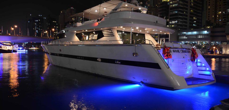 Al Shujaat 9 Charter Yacht