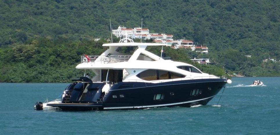 Sunseeker Manhattan 88 Charter Yacht