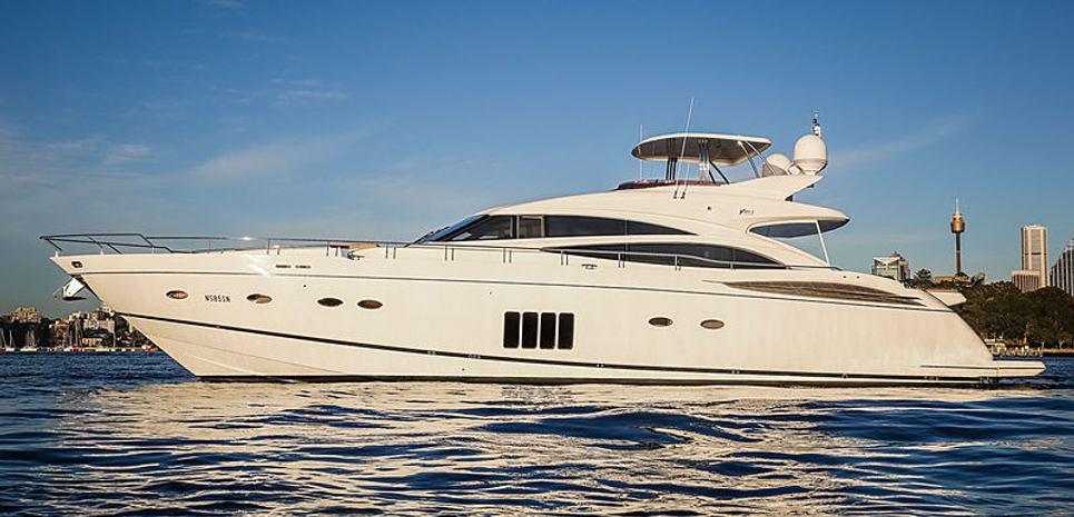 Captain Nancy Charter Yacht