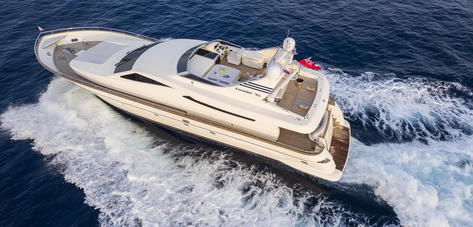 Gorgeous Charter Yacht