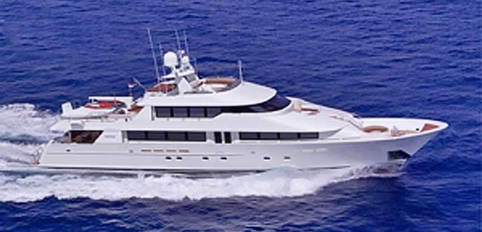 Arms Reach Charter Yacht