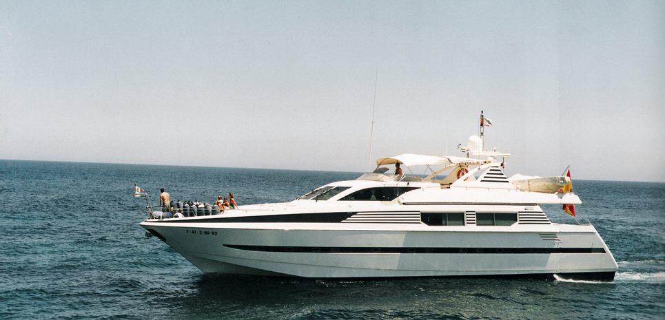 Gaveira Cuarta Charter Yacht