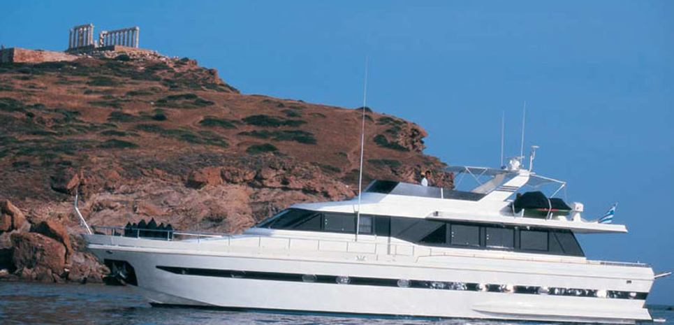 Amphitrite K.Y. Charter Yacht