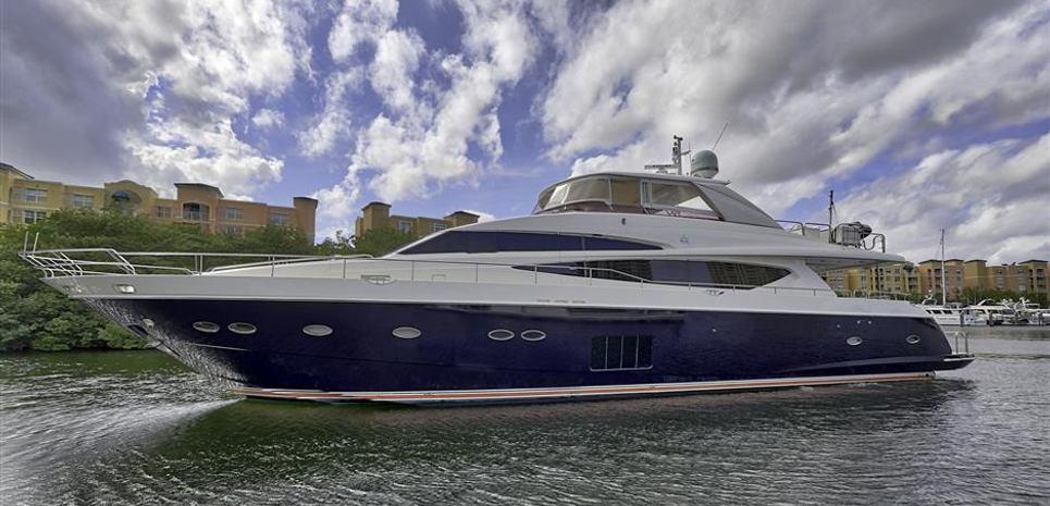Blueprint Charter Yacht