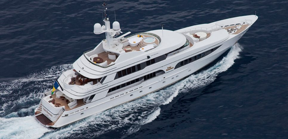 Lady Anastasia Charter Yacht