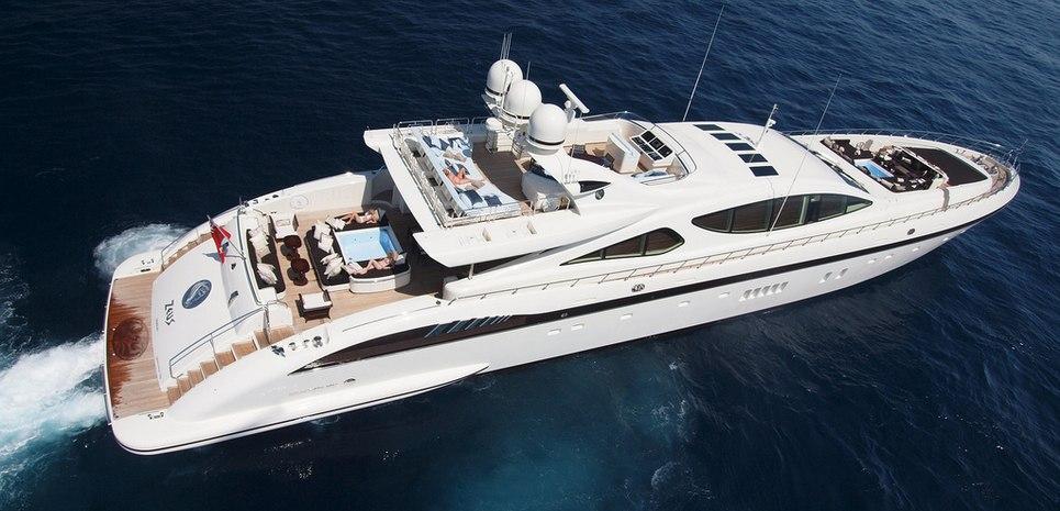 Zeus I Charter Yacht
