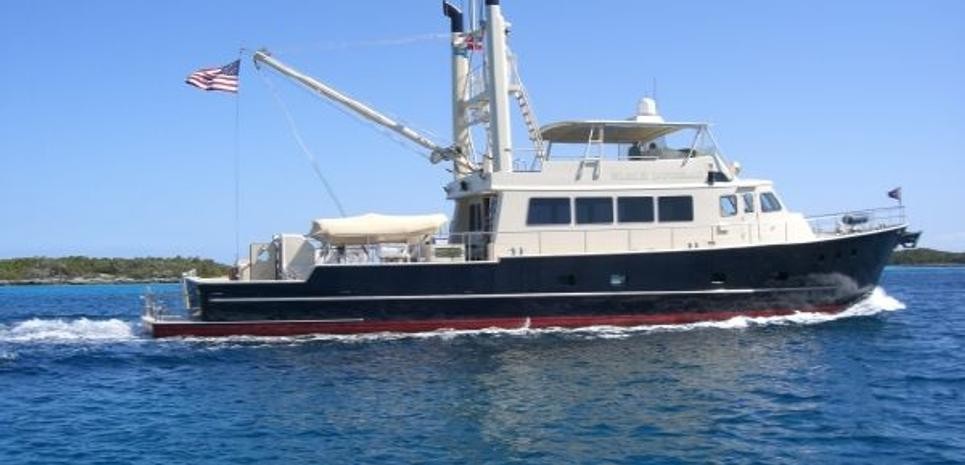 Neville Long Range Motor Yacht Charter Yacht