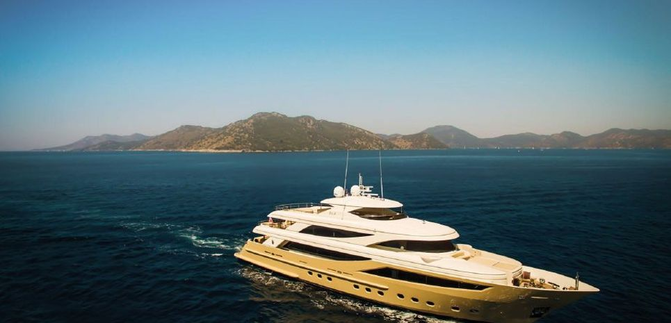 MY Steel Charter Yacht