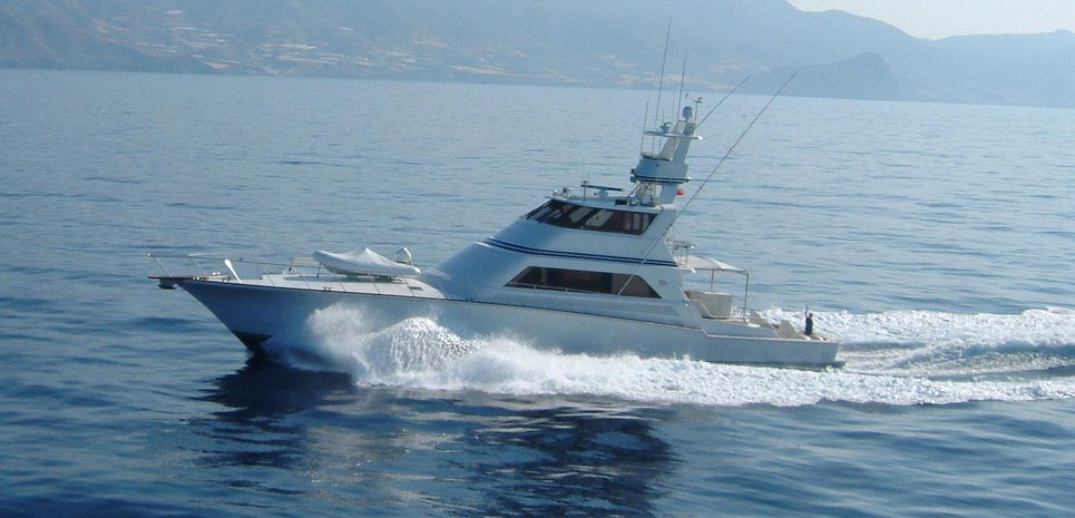Golden Osprey Charter Yacht