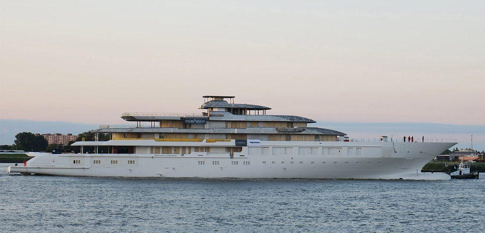 Oceanco Y719 Charter Yacht