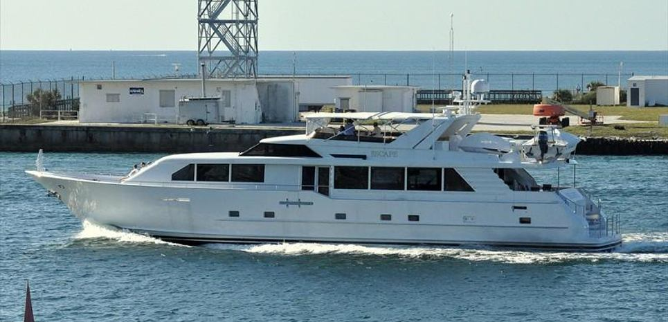 Escape Charter Yacht