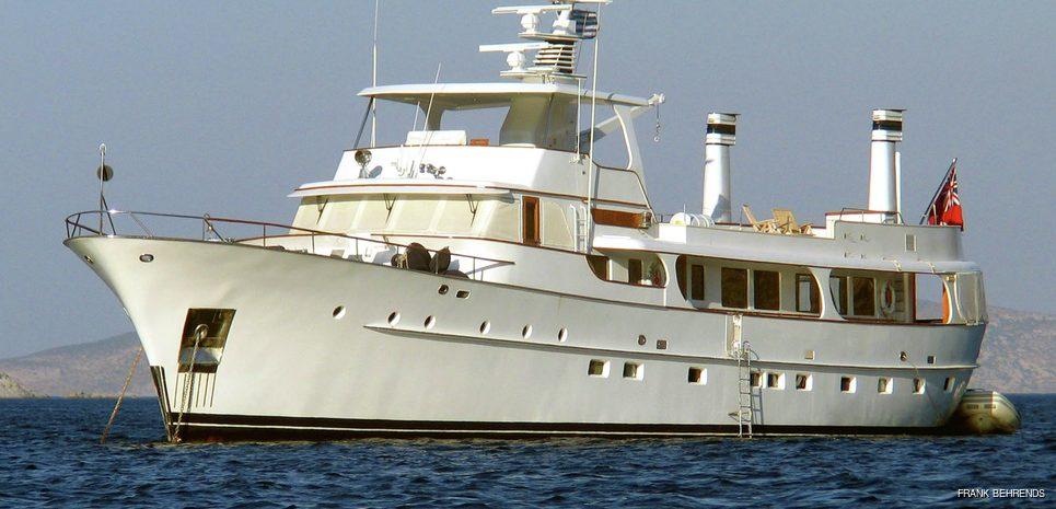 Lady Andrea Charter Yacht