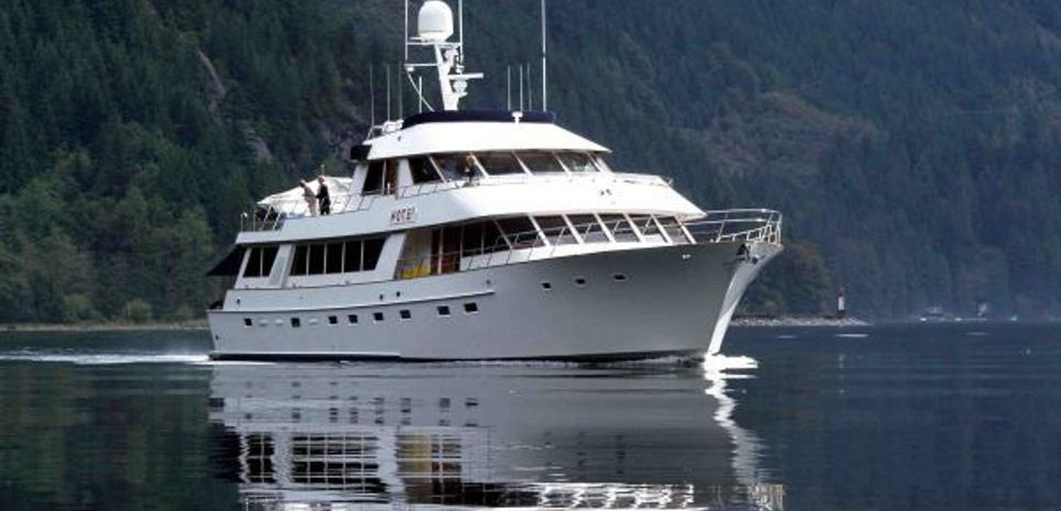 Hotei Charter Yacht