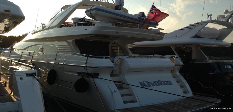 Kivotos Charter Yacht