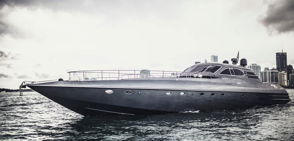 Miami Vice Charter Yacht