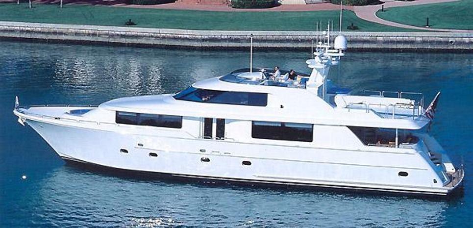 Westport 98 Charter Yacht