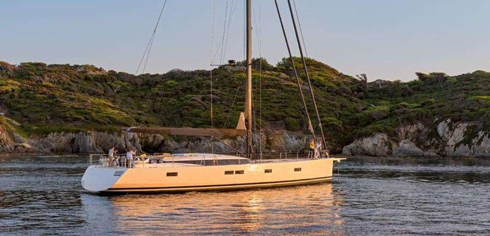GIGI OF LYMINGTON Charter Yacht
