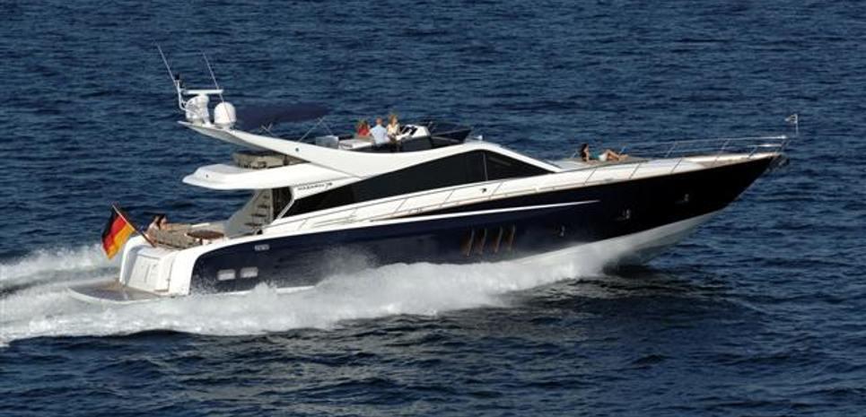 Indigo Blue Charter Yacht