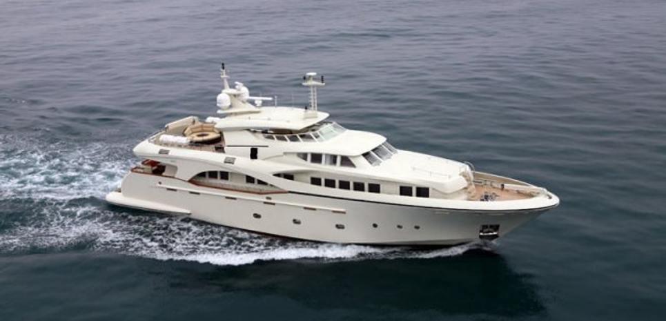 Anna Yaroslava Charter Yacht