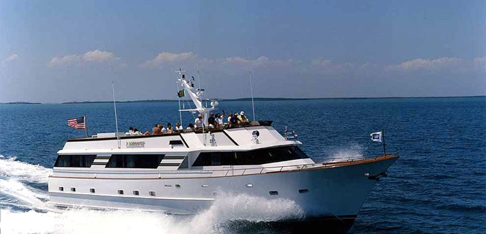 The Admiral Charter Yacht
