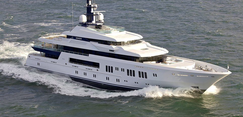 Hermitage Charter Yacht