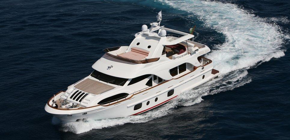 Cuff Link Charter Yacht