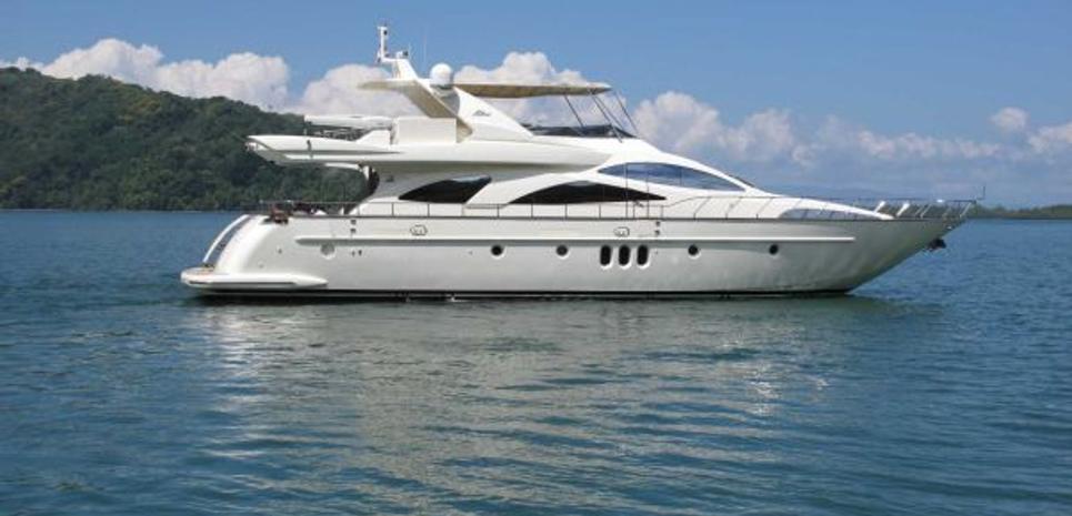 The Franji Charter Yacht