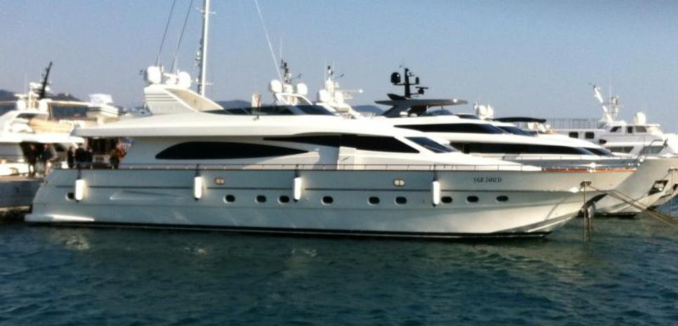 Canados 80 S Charter Yacht