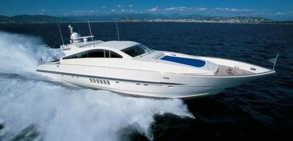 Cafe del Mar Charter Yacht