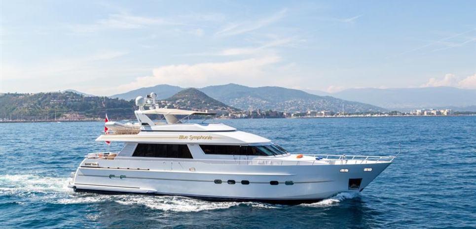 Blue Symphonie Charter Yacht