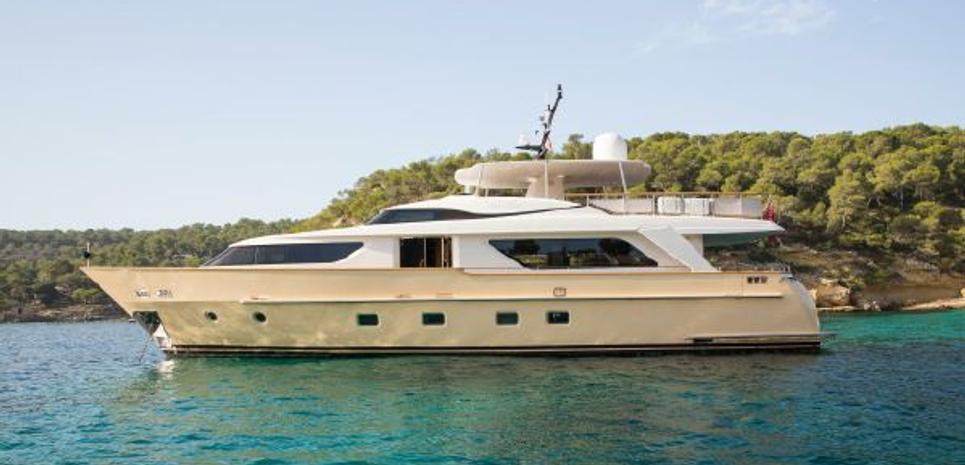 Lady Jane Charter Yacht