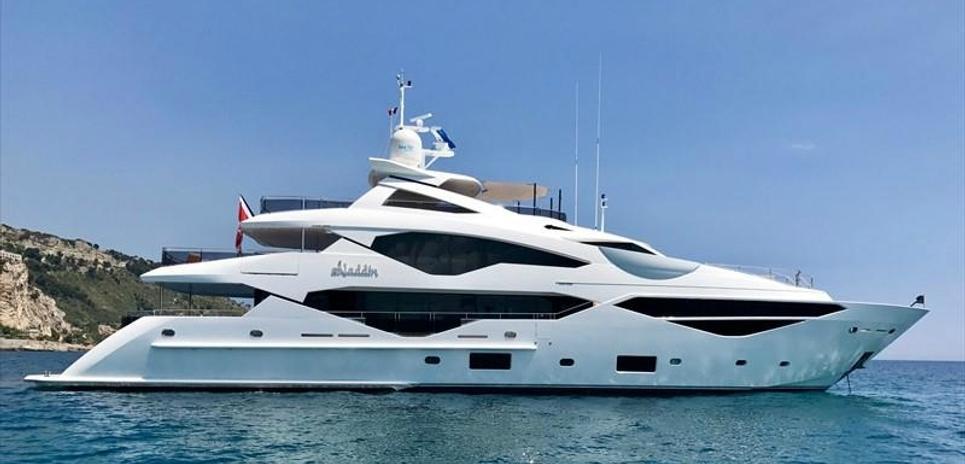 Aladdin Charter Yacht