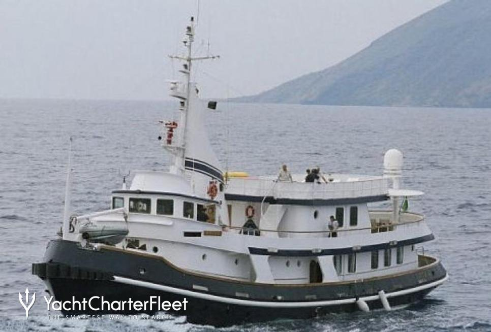 Mistral Charter Yacht