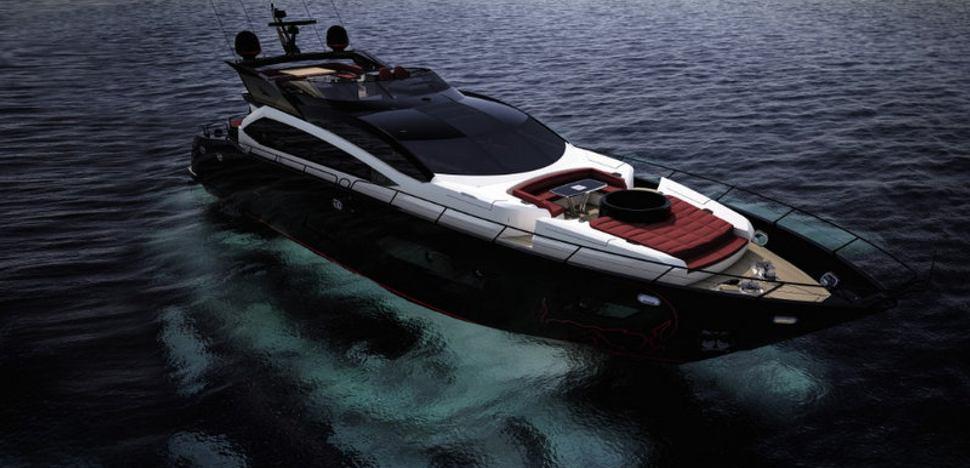 BLACK LEGEND Yacht - Sunseeker