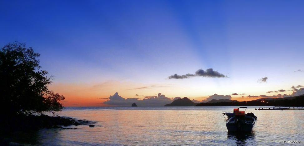 Peaceful Bright Sunset