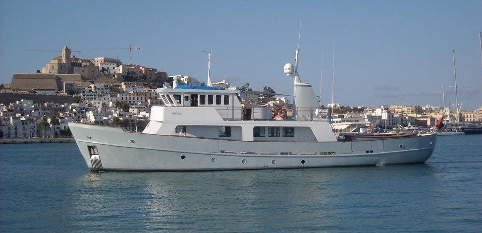 wisting yacht norwegian navy yacht charter fleet. Black Bedroom Furniture Sets. Home Design Ideas