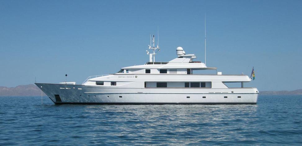 Golden Eagle Yacht Picchiotti Yacht Charter Fleet