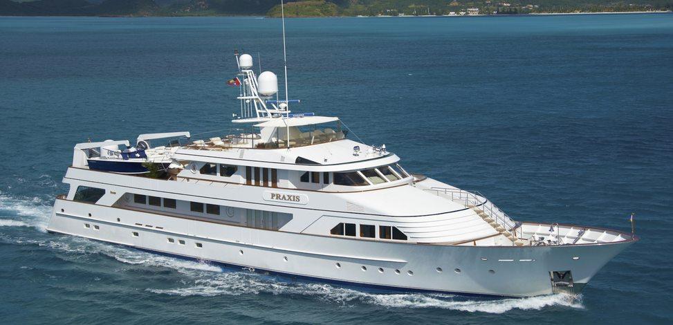 PRAXIS Yacht Charter Price Ex Mahogany