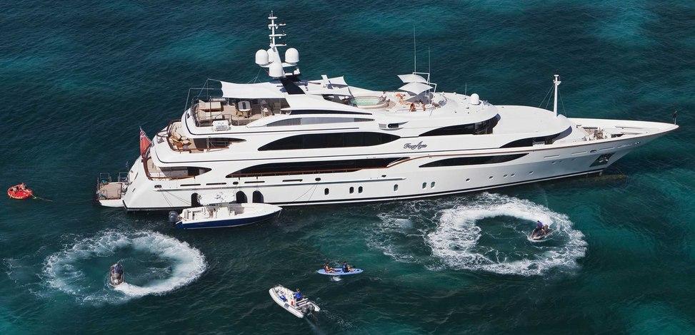 JAGUAR Yacht Charter Price