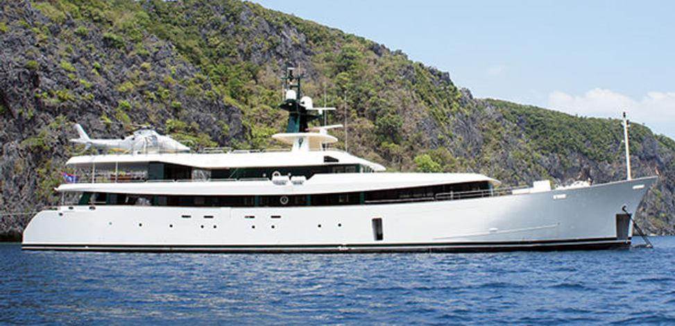 Ark angel yacht mitsubishi heavy industries yacht for Angel boats and motors