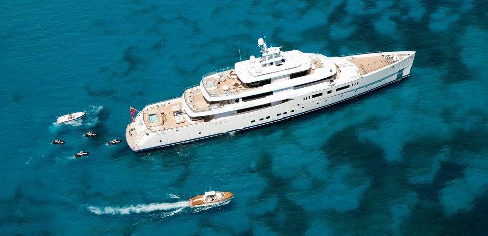 NAUTILUS Yacht Charter Price (ex. Grace E) - Picchiotti Luxury ...