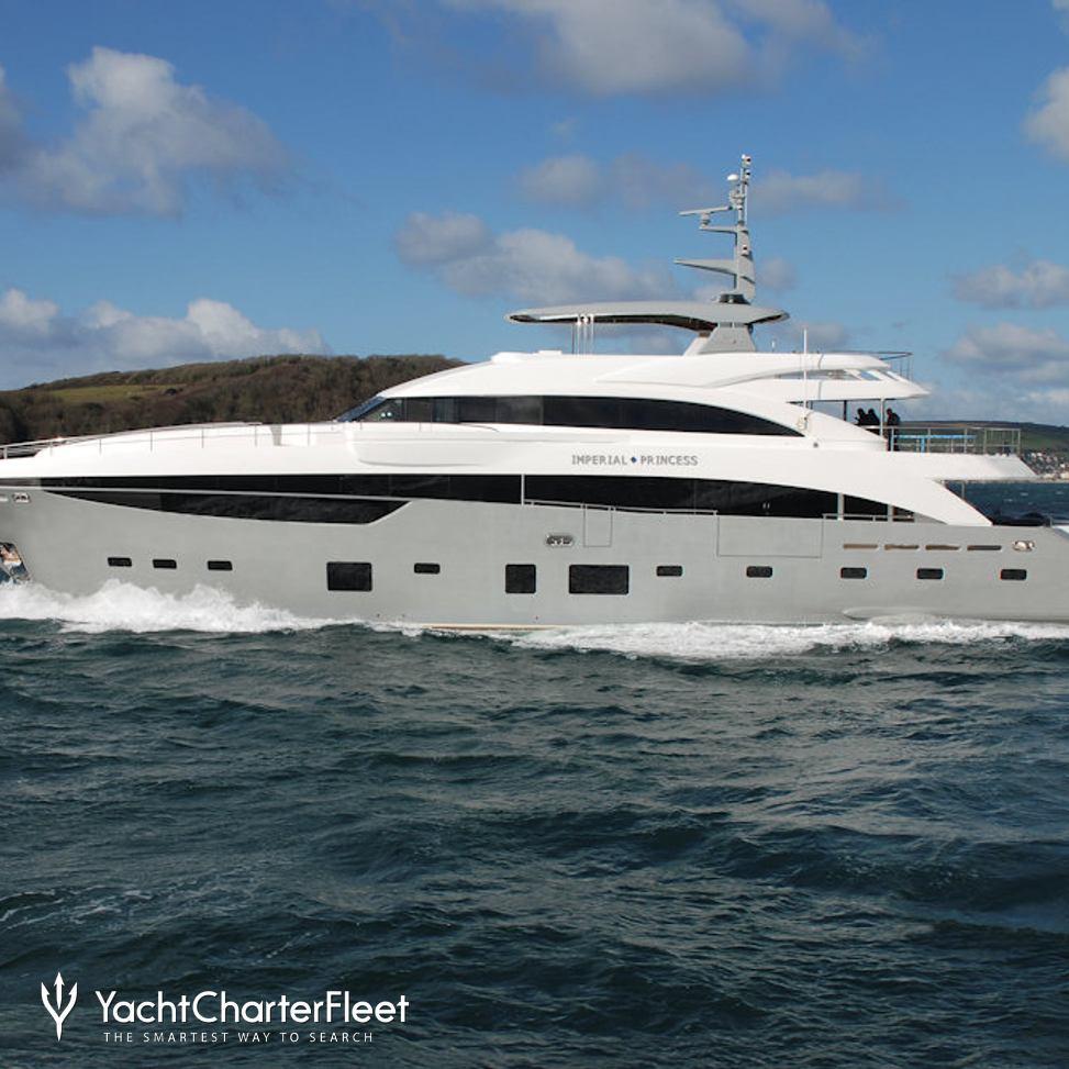 Imperial Princess Beatrice Yacht Charter Price Princess Luxury