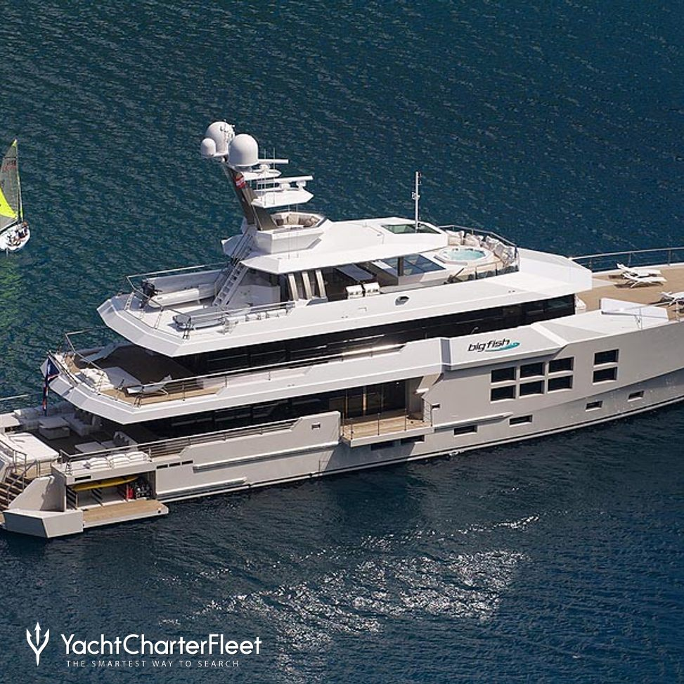 Big Fish Yacht Charter Price Mcmullen Wing Luxury Yacht Charter
