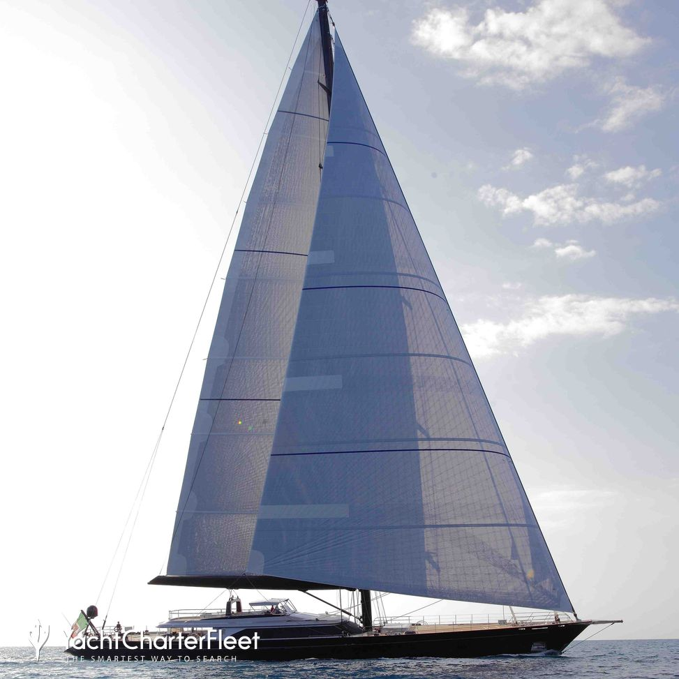 PERSEUS^3 Yacht Charter Price - Perini Navi Luxury Yacht Charter