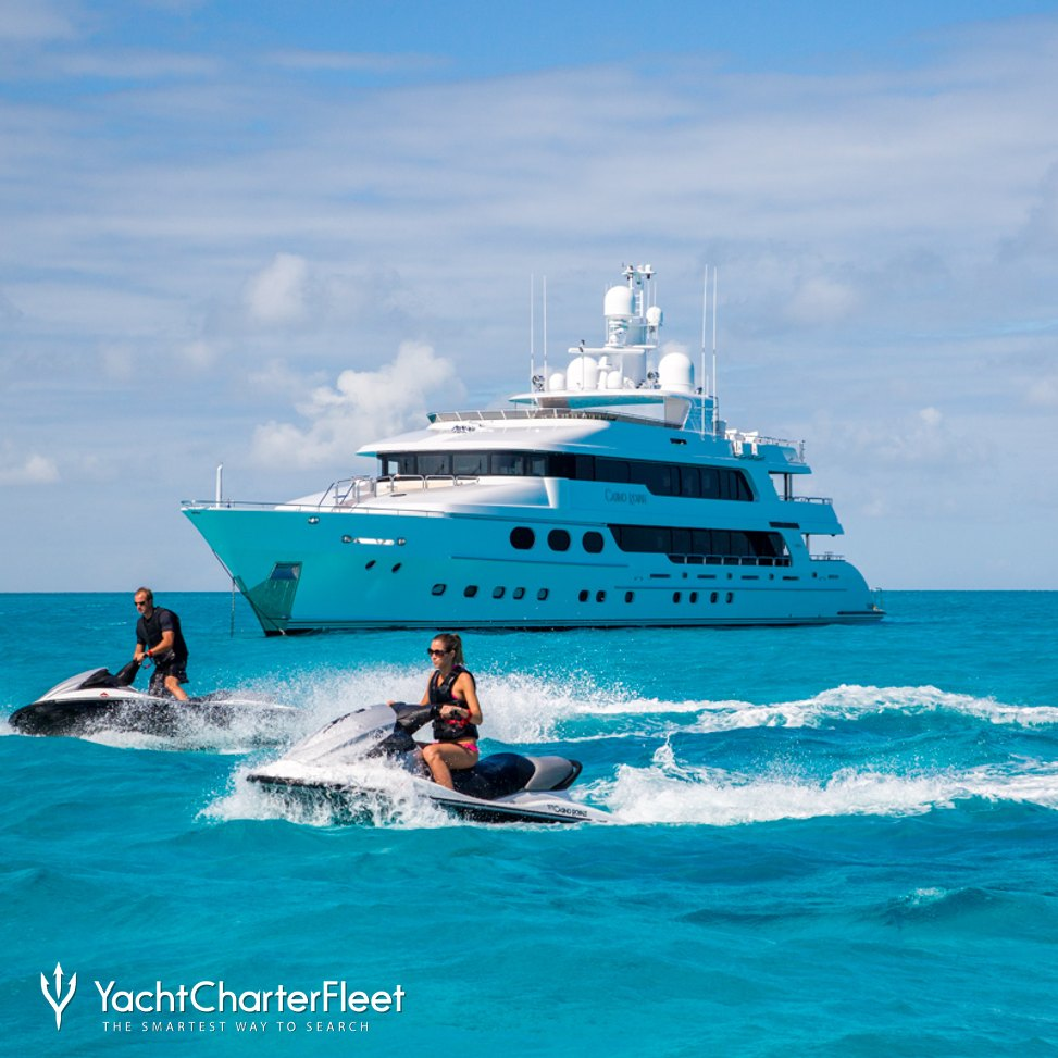 CASINO ROYALE Yacht Charter Price - Christensen Luxury Yacht