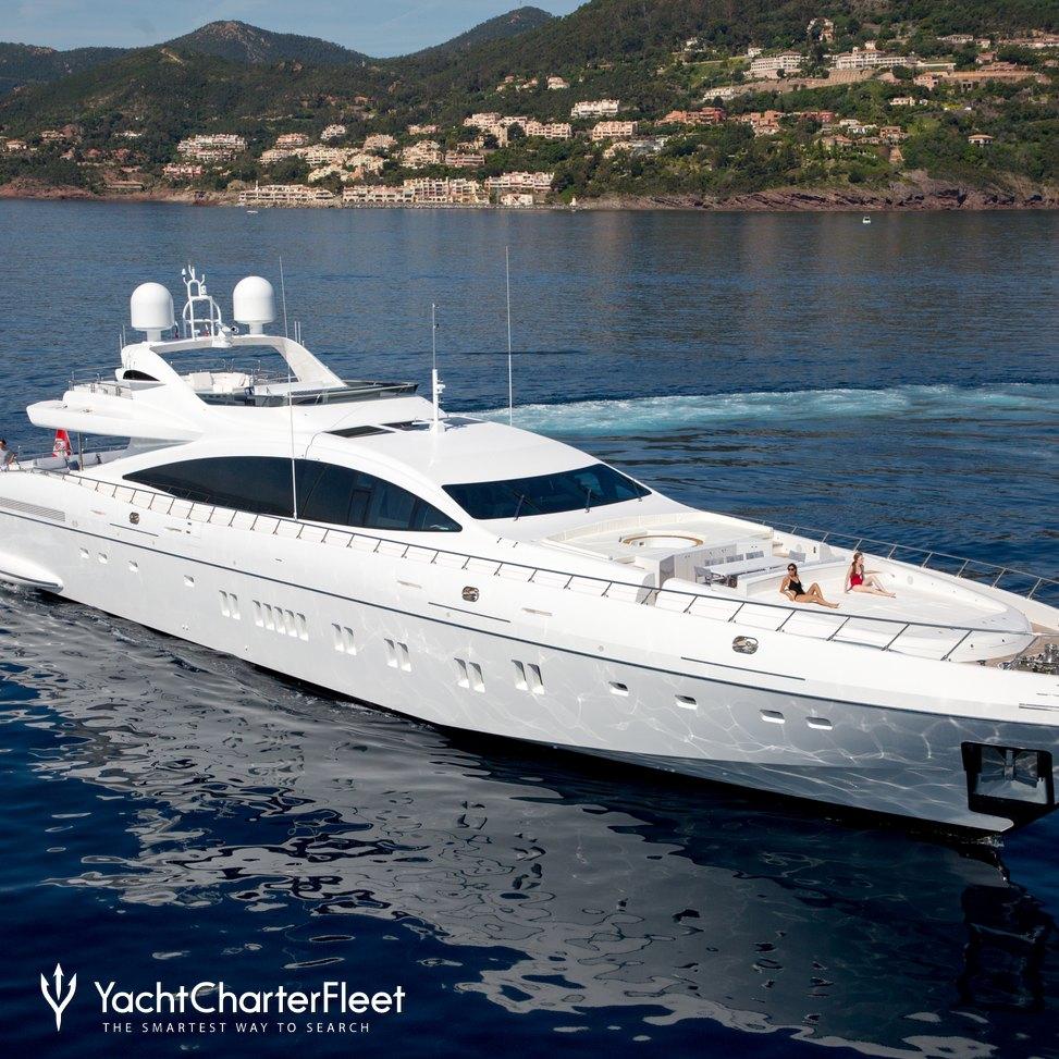 Da Vinci Yacht Charter Price Overmarine Luxury Yacht Charter