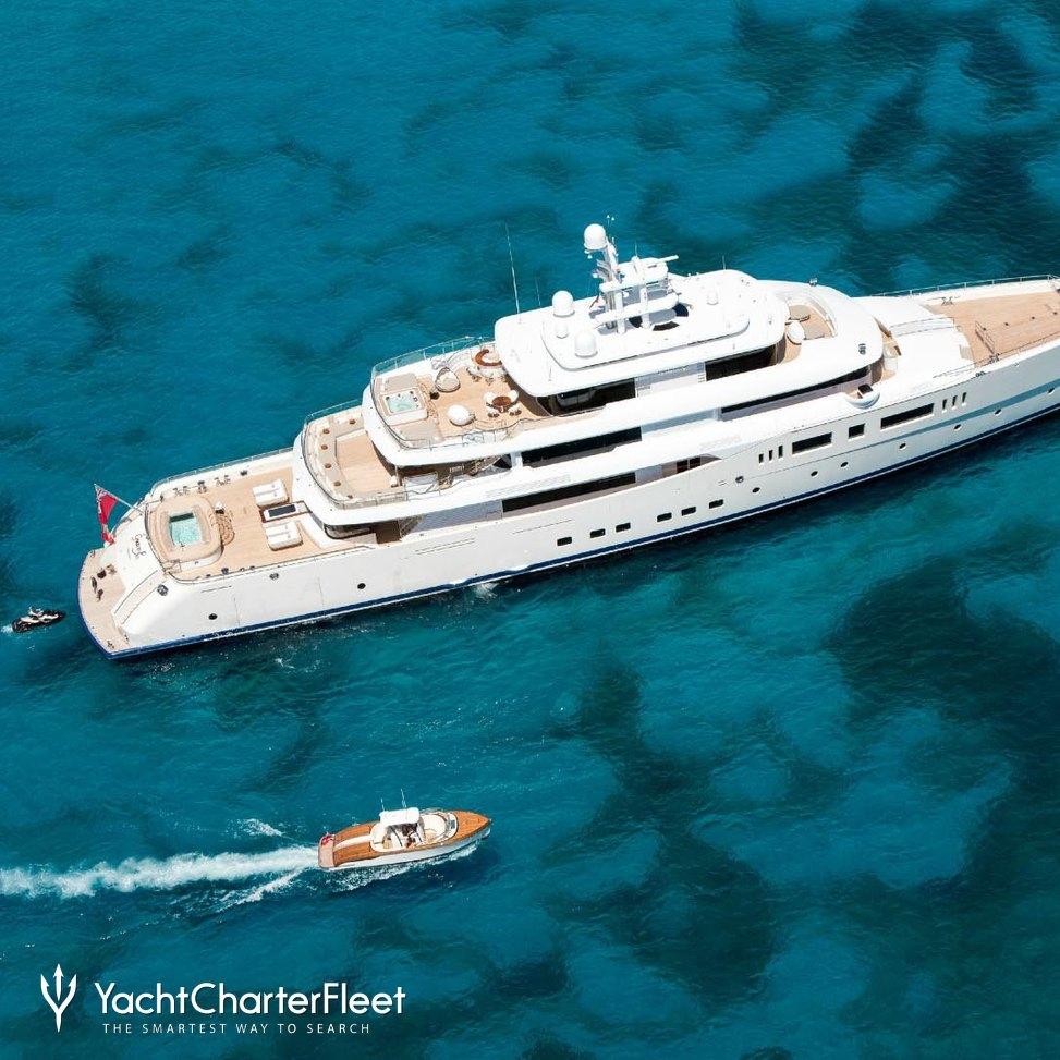 NAUTILUS Yacht Charter Price (ex  Grace E) - Picchiotti