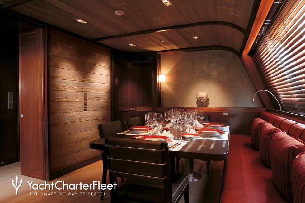 Rosehearty Yacht Charter Price Perini Navi Luxury Yacht Charter